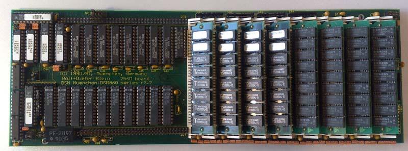 DSM860-RAMcard